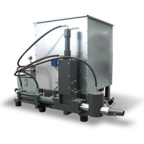 Fercell Briquette Press - using waste wood to heat industrial spaces