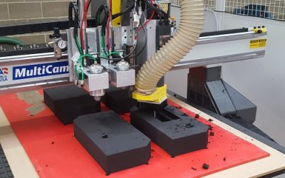 CNC Machine allows for quick, accurate design changes