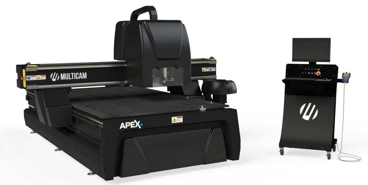 Apex5R MulitCam CNC Router